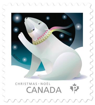 Les figurines sur les animaux de Noël (Groupe CNW/Postes Canada)
