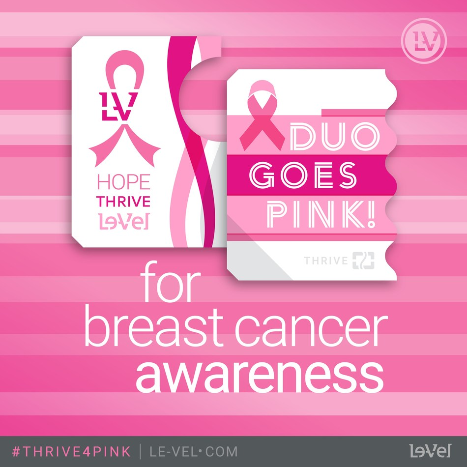Le-Vel Brands, LLC, the world leader in human nutritional innovation, has presented the National Breast Cancer Foundation (NBCF) with a donation from the proceeds of its limited-edition NBCF Derma Fusion Technology (DFT) DUO, of which $5 from every purchase in October was earmarked for the NBCF.