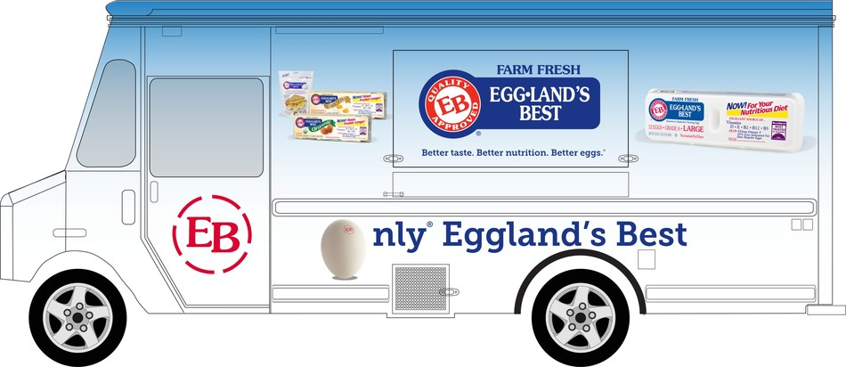 Eggland's Best (EB) Better Egg Food Truck 2017