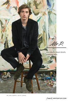 MR PORTER推出Mr P. -- 来自全球领先的男性时尚平台的全新品牌