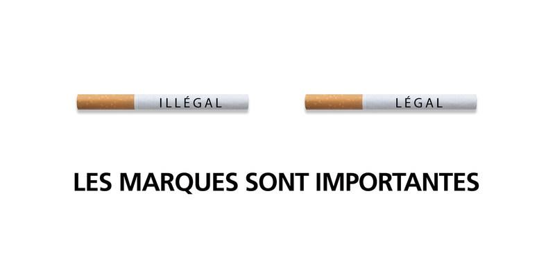 Les marques aident à prévenir la vente de tabac aux mineurs en rendant les cigarettes illégales plus difficiles à vendre. (Groupe CNW/JTI-Macdonald)