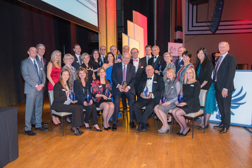 Governance Professionals of Canada Excellence in Governance Awards, The Carlu, November 2, 2017 in Toronto. (CNW Group/Governance Professionals of Canada)