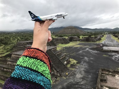 Alaska Airlines continues to expand with the addition of nonstop service between San Diego and Mexico City.