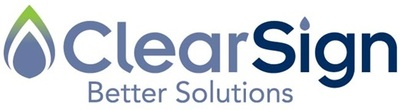 ClearSign Logo (PRNewsFoto/ClearSign Combustion Corporation)