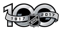 Logo: NHL 100th (CNW Group/Royal Canadian Mint)