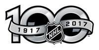 Logo: NHL 100th (CNW Group/Royal Canadian Mint)
