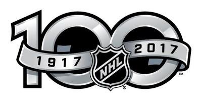 Logo : Centenaire de la LNH (Groupe CNW/Monnaie royale canadienne)