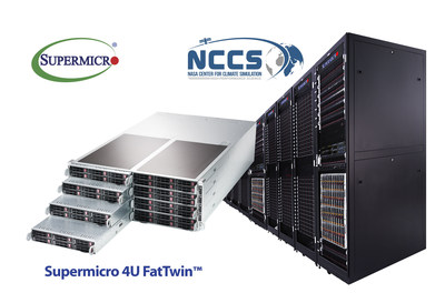 NASA selects Supermicro complete Rack Scale Solution to boost Compute Performance