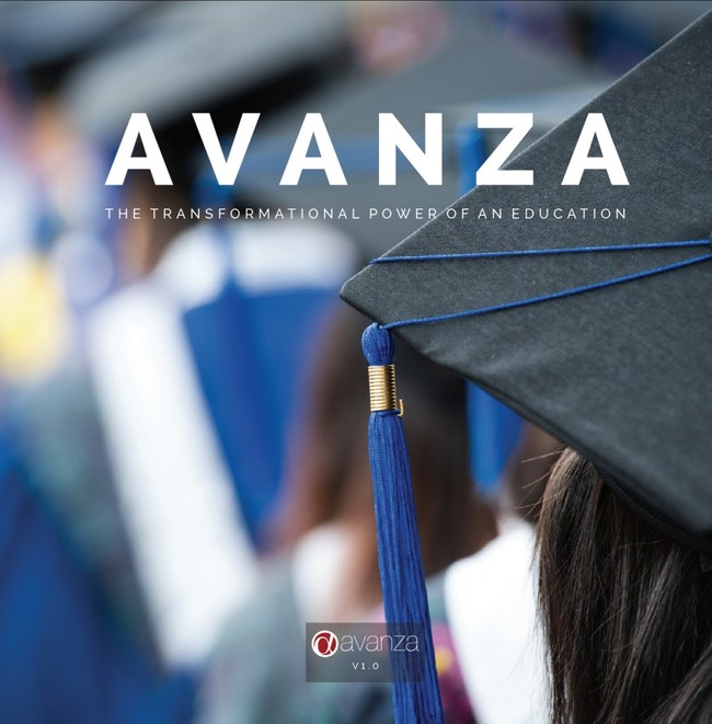 Avanza's first book, available at bookstore.weeva.com/products/Avanza