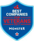 Monster Salutes Best Companies for Veterans in 2017