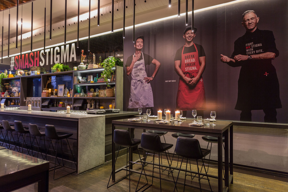 An inside look at the June's HIV+ Eatery. (CNW Group/Casey House Foundation)