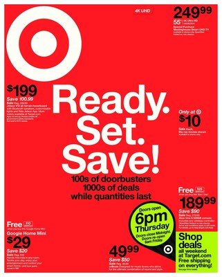 Target's Black Friday Weekly Ad