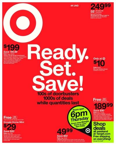 Target's Black Friday Weekly Ad