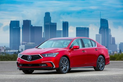 The 2018 Acura RLX begins arriving in Acura showrooms tomorrow with a striking redesign that follows the brand's new design direction, along with a substantially lower price for the RLX Sport Hybrid SH-AWD.