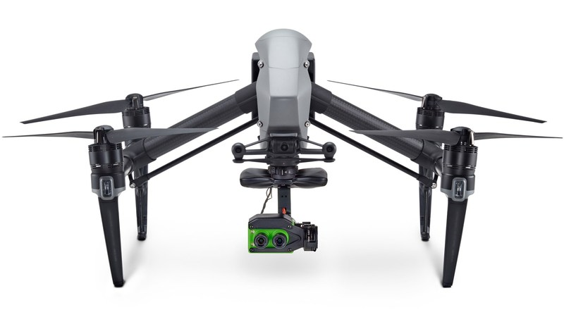 Sentera precision plug-and-play double 4K sensor transforms the DJI Inspire 2 drone into an indispensable crop-scouting tool.