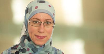 Neila Mezghani, titulaire de la Chaire de recherche du Canada en analyse de données biomédicales (Groupe CNW/Université TÉLUQ)