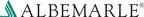 Albemarle announces quarterly dividend