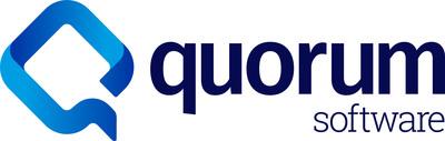 Quorum Software Logo (PRNewsfoto/Quorum)