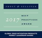 Frost & Sullivan Recognizes Arbor Networks as a Market Leader in the DDoS Mitigation Products Industry