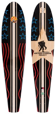 KOTA Longboards announced that it's supporting Wounded Warrior Project through the sales of a limited edition longboard.