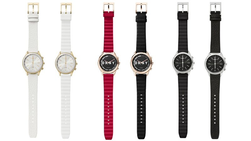 The DKNY MINUTE hybrid smartwatch line is available now, starting at $155.