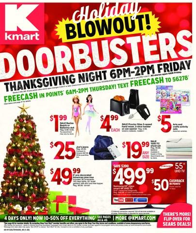 Kmart Thanksgiving-Black Friday Cover