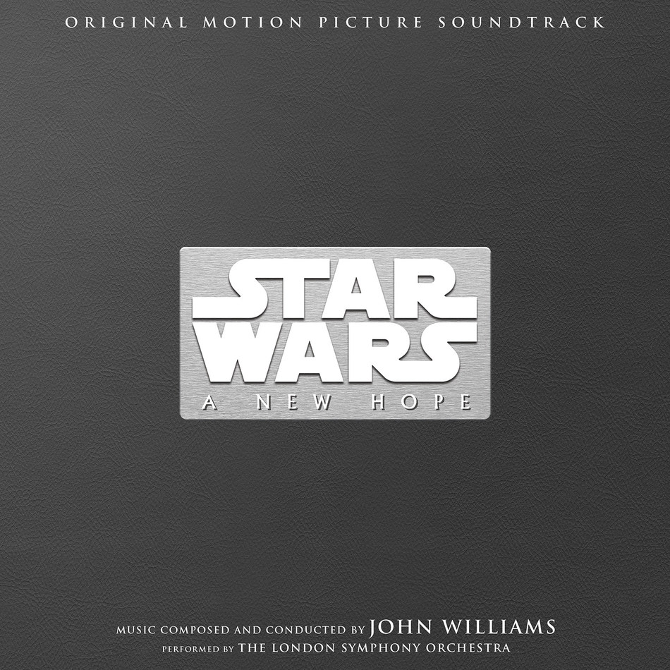 Star Wars: A New Hope Original Motion Picture Soundtrack 40th Anniversary 3-LP Collector's Edition cover art.