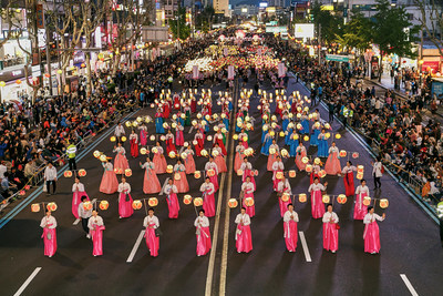 Lotus Lantern Festival Yeon Deung Hoe Will Be Held On May 11 13 2018 In Seoul