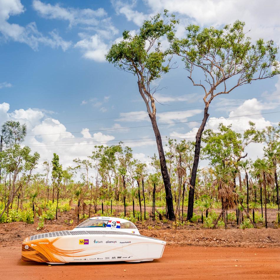 Nuon Solar 2017 World Solar Challenge (PRNewsfoto/TeXtreme)