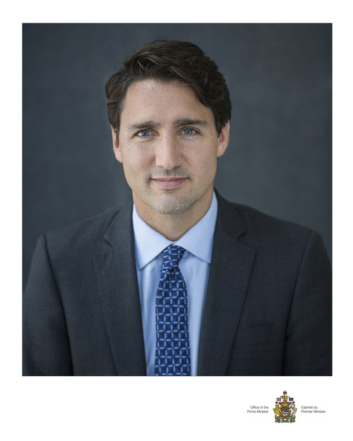 The Right Honourable Prime Minister Justin Trudeau is the 2017 recipient of the prestigious Symons Medal from Confederation Centre of the Arts. Mr. Trudeau will receive the Symons Medal and offer his thoughts on the current state of Canadian Confederation in a public ceremony at Confederation Centre November 23 (submitted image). (CNW Group/Confederation Centre of the Arts)