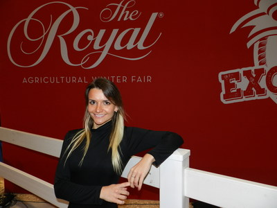 Photo of Sara Kirchhof – R.I. Tennison photo (CNW Group/Royal Agricultural Winter Fair)