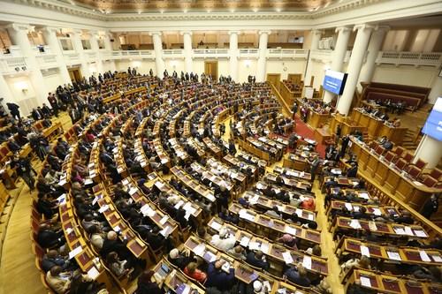 Russian hospitality: 137th Inter-Parliamentary Union Assembly leaves impression on world's parliamentarians (PRNewsfoto/IPU)