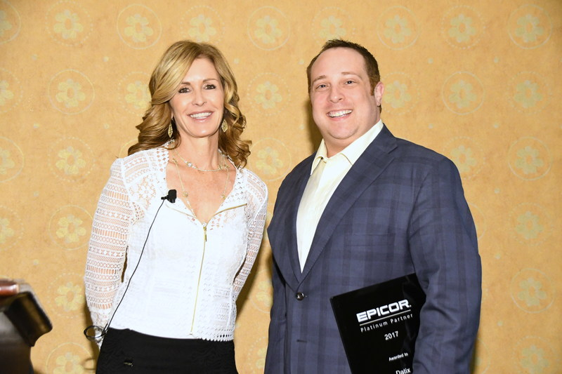 Matt Schuval, Datix CEO, Accepts Platinum Award