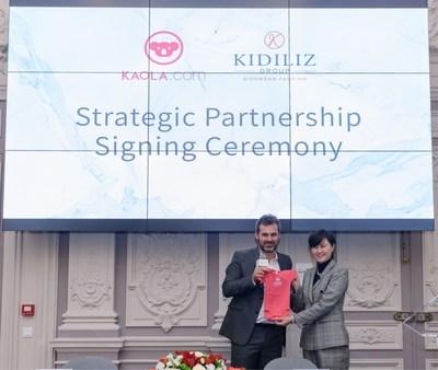 NetEase Kaola renforce son engagement d'élargir l'accès des consommateurs chinois aux marques françaises avec la signature d'un nouvel accord de partenariat