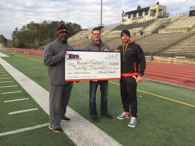 Hoover Bucs Football has raised over $85,000 in five years hosting The Mattress Fundraiser. – Coach Josh Niblett, Hoover High School, Alabama