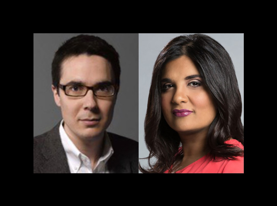 Ryan Lizza, Washington correspondent for The New Yorker, will be in conversation with Piya Chattopadhyay, host of CBC Radio's Out in the Open, for the CJF J-Talk in Toronto on December 4. (CNW Group/Canadian Journalism Foundation)