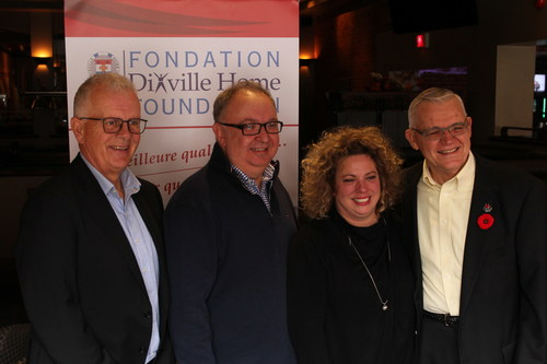 Launch of the 2017-2018 fundraising campaign (CNW Group/Dixville Home Foundation)