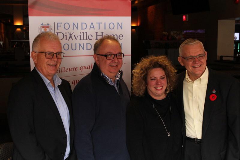 Lancement de la campagne de financement 2017-2018 (Groupe CNW/Fondation Dixville Home)