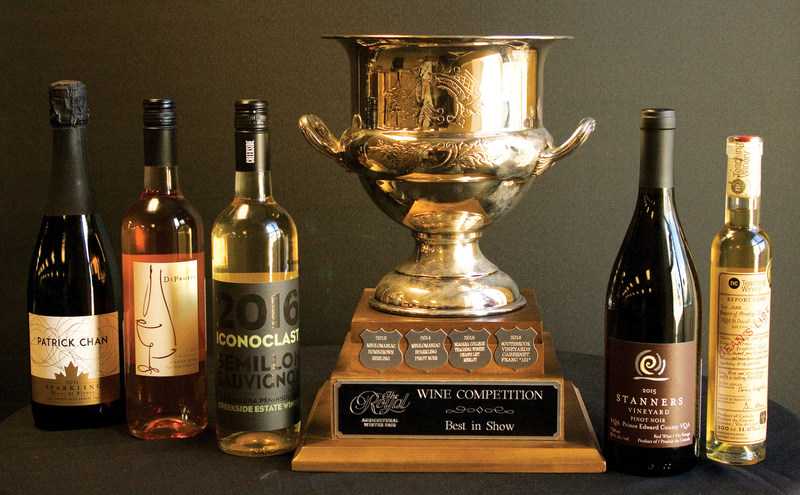 Best of Ontario Wines Announced at the 95th Royal (CNW Group/Royal Agricultural Winter Fair)