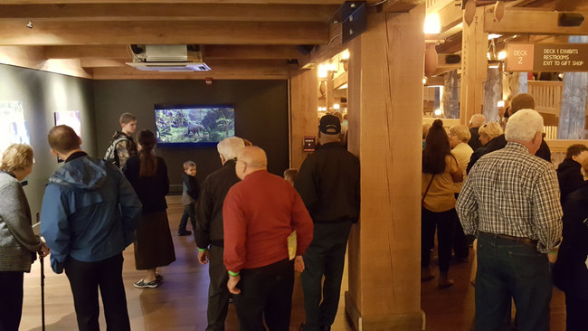 Footage from Genesis: Paradise Lost is shown to Ark Encounter visitors in Ultra-D Glasses-Free 3D