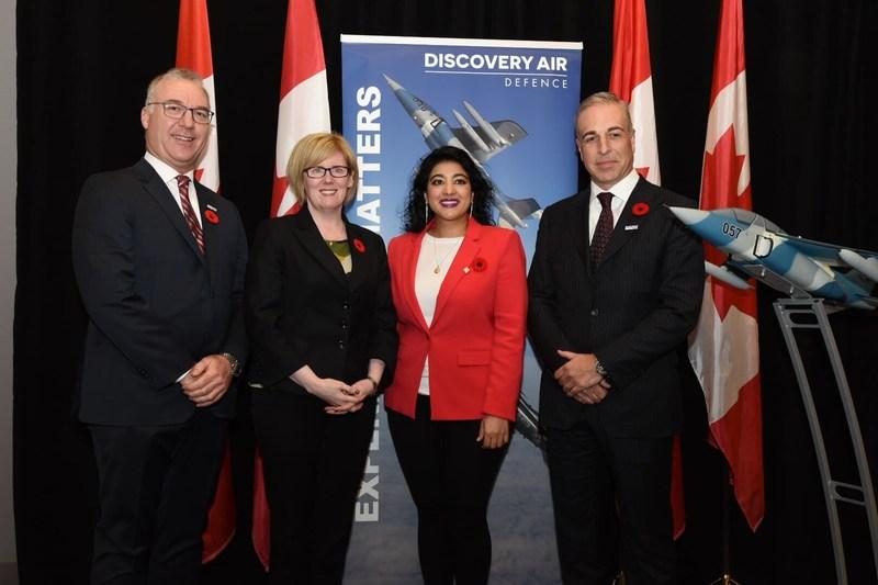 Canada investit 480 $ million dans des services d'entraînement de combat aérien pour les FAC. (Groupe CNW/Services publics et Approvisionnement Canada)