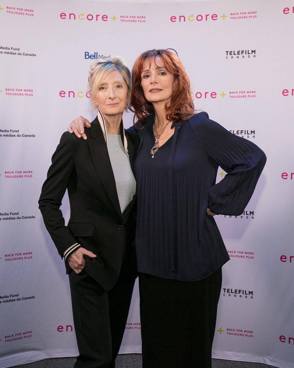 Sheila McCarthy and Jennifer Dale (CNW Group/CANADA MEDIA FUND)