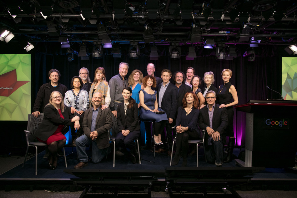 Some of the talent and creators who contributed to titles on Encore+ (CNW Group/CANADA MEDIA FUND)