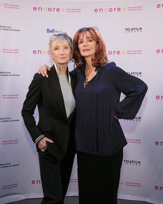 Sheila McCarthy et Jennifer Dale (Groupe CNW/FONDS DES MEDIAS DU CANADA)