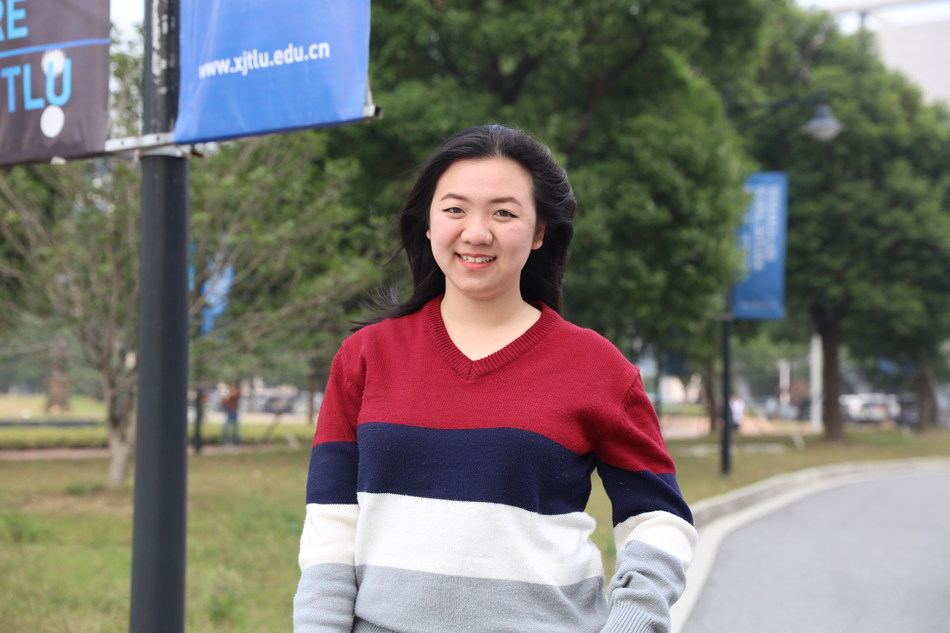 Vimvaporn studying Msc Operations and Supply Chain Management at XJTLU in China
