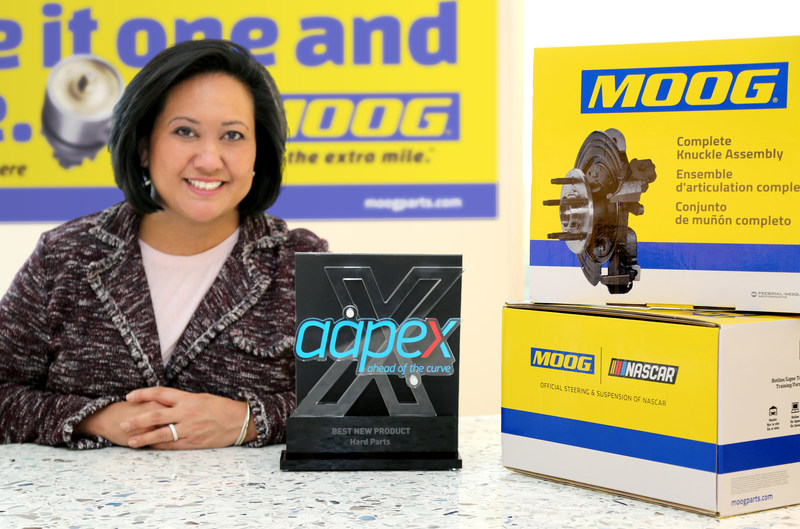 Christine Tower, Wheelend Senior Product Line Manager, Chassis, Federal-Mogul Motorparts