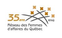 Logo: Réseau des Femmes d'affaires du Québec (Groupe CNW/Réseau des Femmes d'affaires du Québec Inc.)