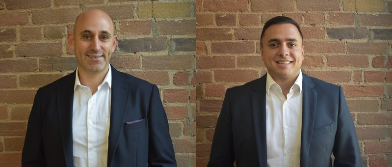 Anthony Lipschitz (left), Firepower Capital's new Partner, Private Equity; Alan Chettiar (right), the new Head of Investment Banking (CNW Group/FirePower Capital)