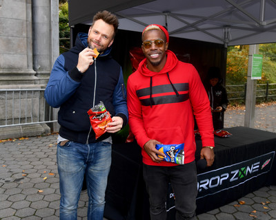 Joel McHale hosts first Drop Zone event in New York City. (PRNewsfoto/Frito-Lay North America)