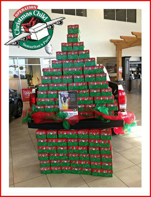 Residents in the Hattiesburg area can make the holiday season more memorable for children overseas and take part in the Toyota of Hattiesburg Operation Christmas Child charity event until November 20.
